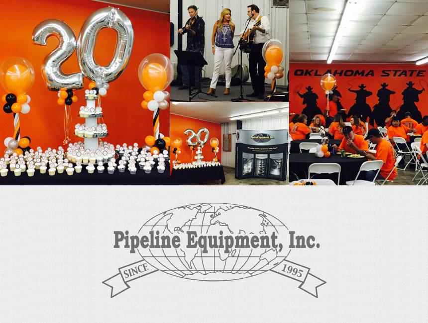 Pipeline Equipment, Inc. Celebrated 20 years of business