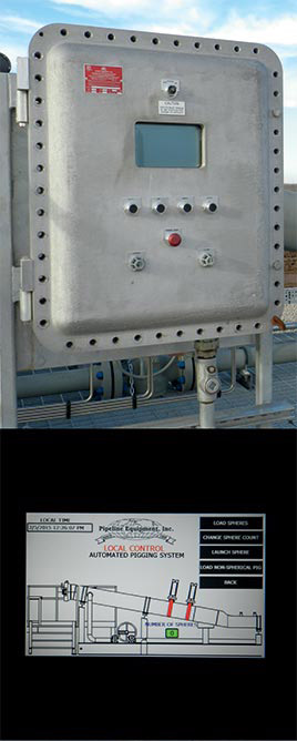Pipeline Equipment Automated Control System